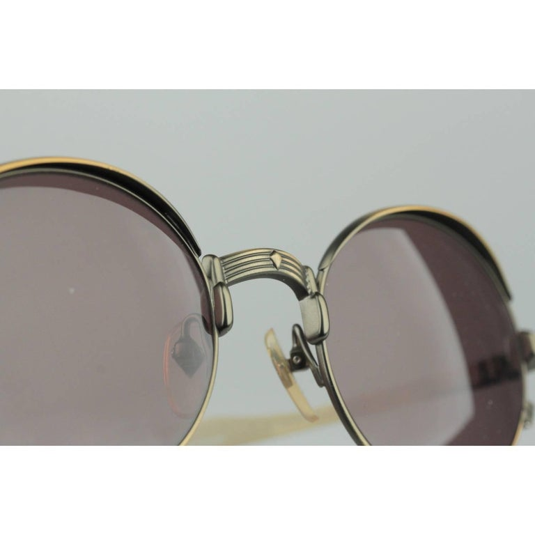 Jean Paul Gaultier Vintage Bronze Sunglasses JET 56-4175   For Sale 2