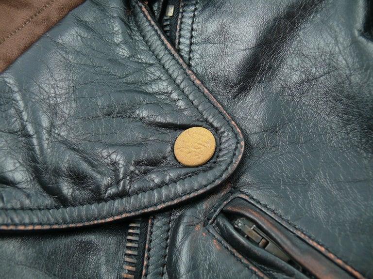 Jean Paul Gaultier Vintage Cropped Biker Jacket  For Sale 3