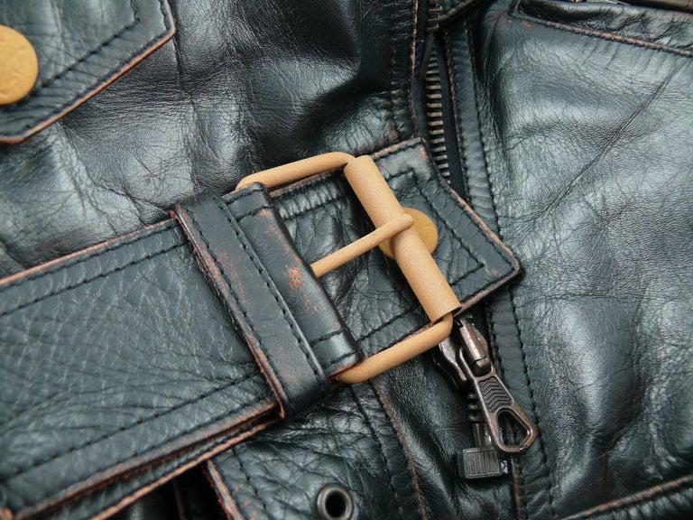 Jean Paul Gaultier Vintage Cropped Biker Jacket  For Sale 4