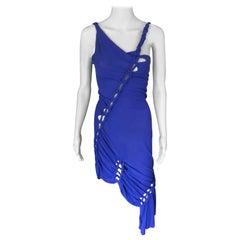 Jean Paul Gaultier Vintage Cutout Open Back Knitted Dress