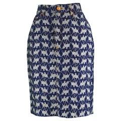 Jean Paul Gaultier Vintage Denim Skirt