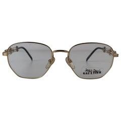 Jean Paul Gaultier Vintage Gold Eyeglasses Frame 55-4174