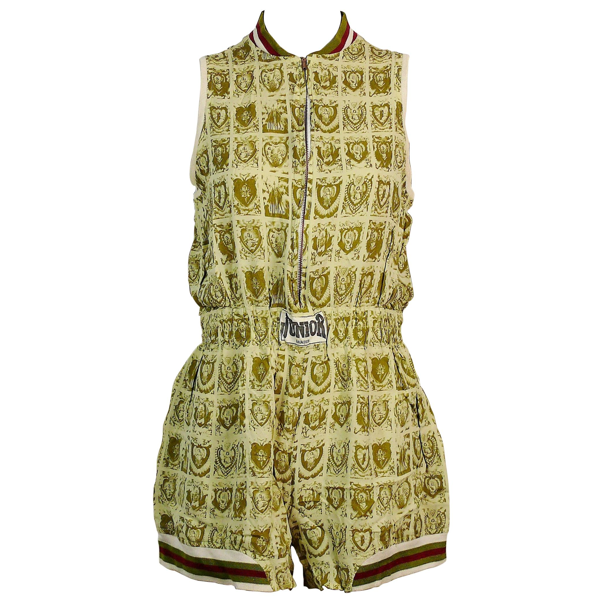 Jean Paul Gaultier Vintage Holy Pictures Print Shortall
