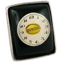Jean Paul Gaultier Vintage Huge Clock Ring