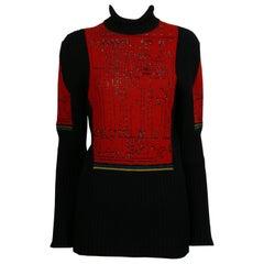 Jean Paul Gaultier Vintage Knit Circuit Board Sweater