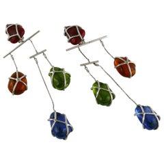 Jean Paul Gaultier Vintage Massive Mobile Kinetic Dangling Earrings