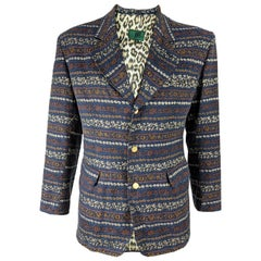Jean Paul Gaultier Vintage Mens Brocade Dinner Jacket