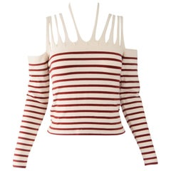 Jean Paul Gaultier Vintage Strappy Long Sleeve Top