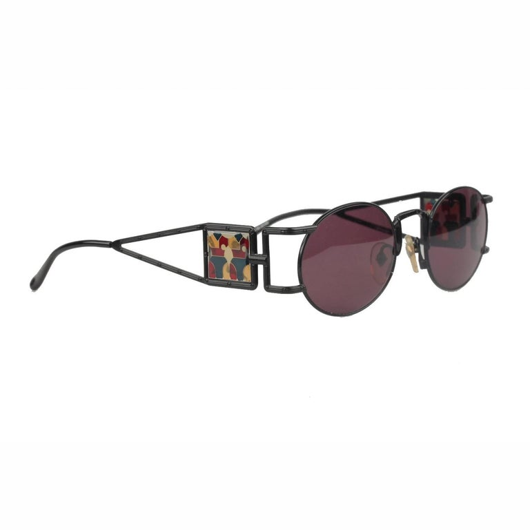 JEAN PAUL GAULTIER Vintage Sunglasses Mosaic 56-4672 New Old Stock