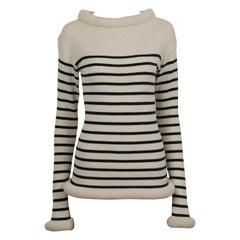 Jean Paul Gaultier Vintage Tube Collar Cuff Hips Matelot Sweater