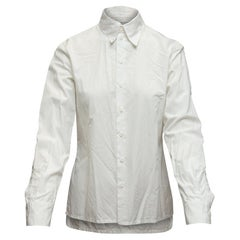 Jean Paul Gaultier White Femme Button-Up Top