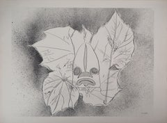 Tribute to Nelligan : Visage of Nature - Original lithograph, Handsigned