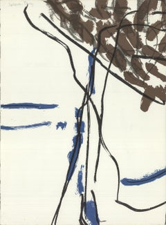 1975 Jean-Paul Riopelle 'Untitled' France Lithograph