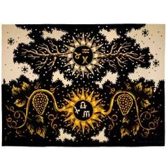 Jean Picart Le Doux  Mid-Century Aubusson Tapestry