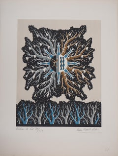 Frost Curtain- Original handsigned lithograph/ 150