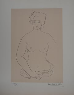 The Bather - Original handsigned lithograph / 75ex