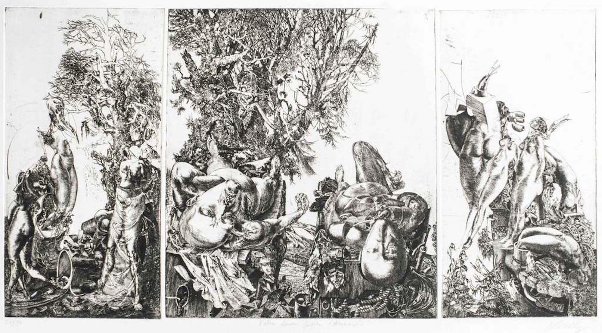 Valse Lente pour l'Anaon (Triptyque) / Slow Waltz for the AnaoN (Triptych)
