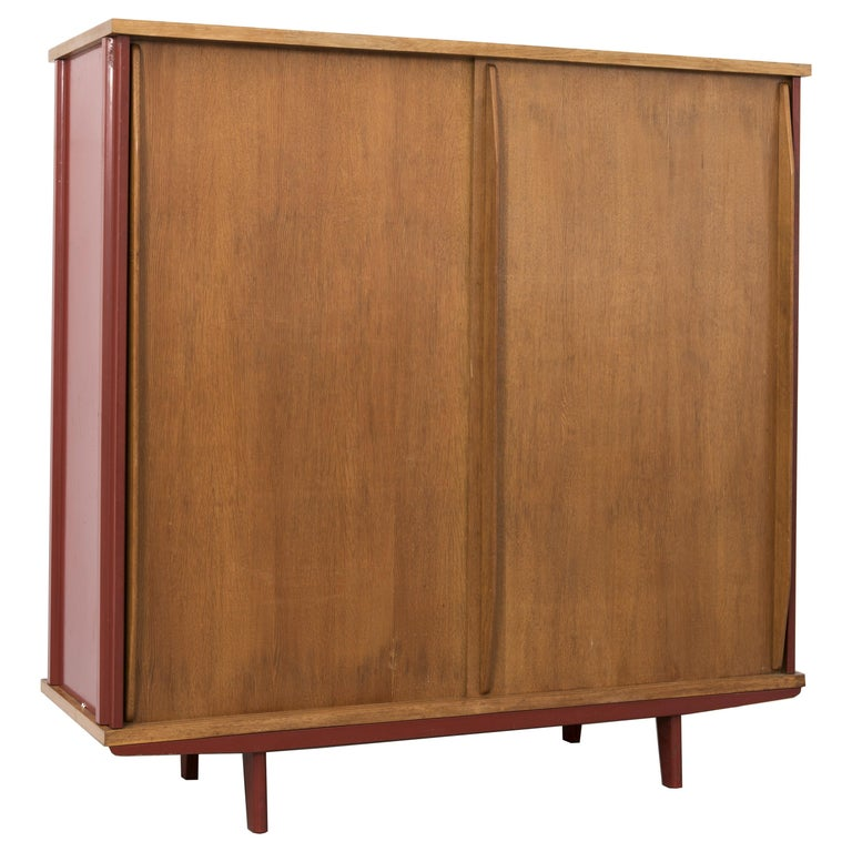 Jean Prouvé, AG 11 Wardrobe, Variant, 1947 For Sale