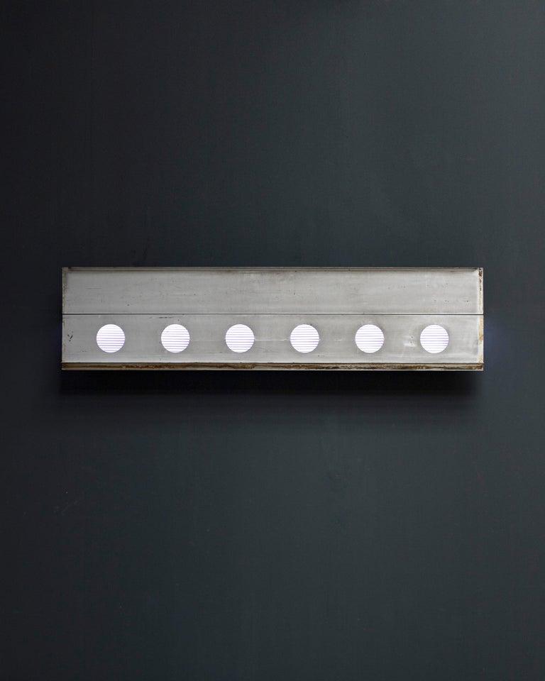 French Jean Prouvé Aluminum Fragment, circa 1958