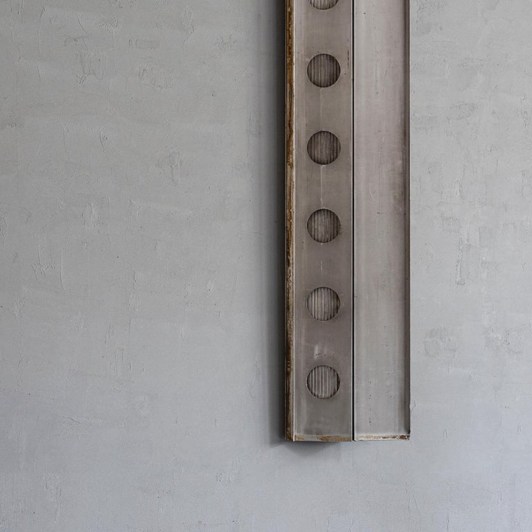 Jean Prouvé Aluminum Fragment, circa 1958 In Fair Condition In Tokyo, JP
