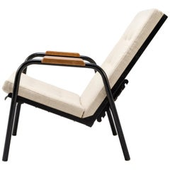 Jean Prouvé Armchair with Reclining System - France, circa 1950
