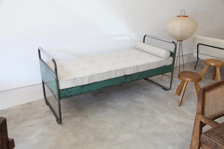 Steel Jean Prouvé, Bed No.17, circa 1935 For Sale