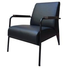 Jean Prouvé Black Lounge Armchair