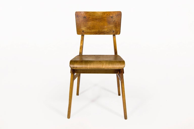 Jean prouv chaise en bois wooden standard chair france circa 1940 at 1stdibs - Jean prouve chaise ...