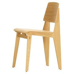 Jean Prouvé 'Chaise Tout Bois' Chair in Natural Oak for Vitra