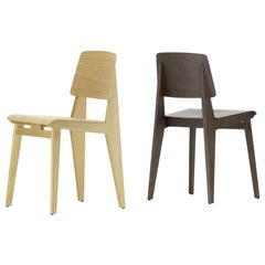 Jean Prouvé 'Chaise Tout Bois' Chair in Oak for Vitra