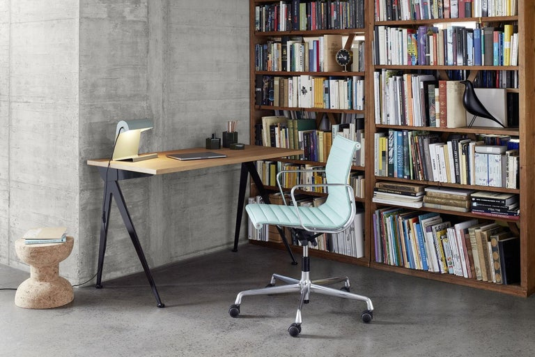 Jean Prouvé Compas Direction Desk in Wood and Metal by Vitra 3