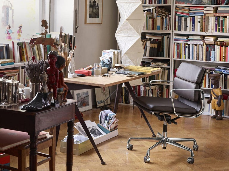 Jean Prouvé Compas Direction Desk in Wood and Metal by Vitra 1