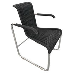 Jean Prouvé D20 Wicker Chair for Tecta Germany, 1980s