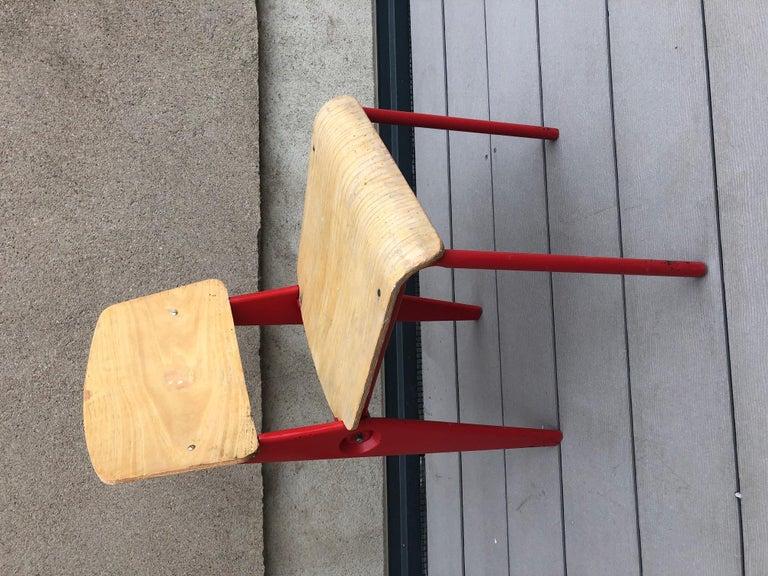 Jean Prouvé Demountable Chair # 300 For Sale 6