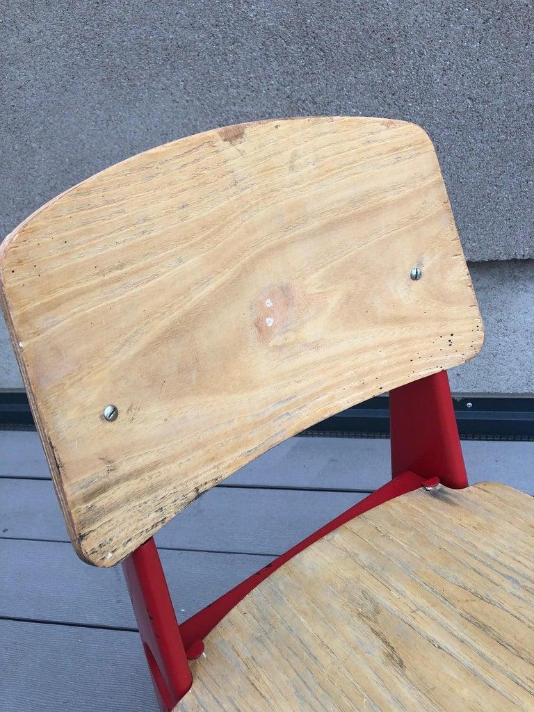 Jean Prouvé Demountable Chair # 300 For Sale 1