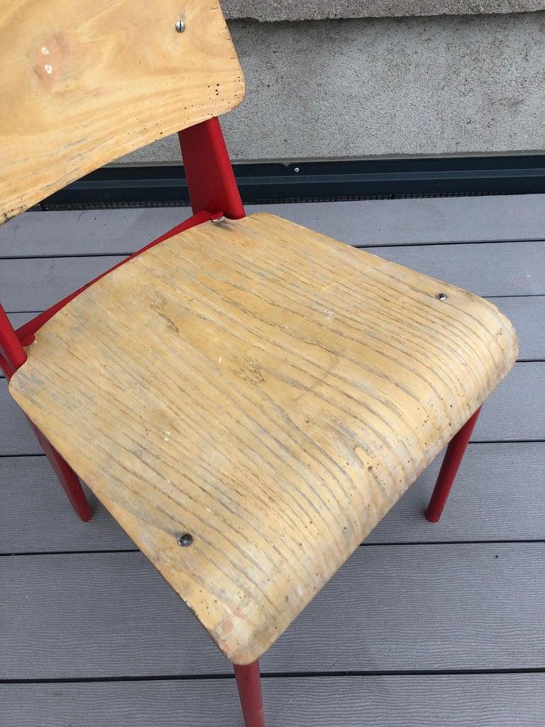 Jean Prouvé Demountable Chair # 300 For Sale 2