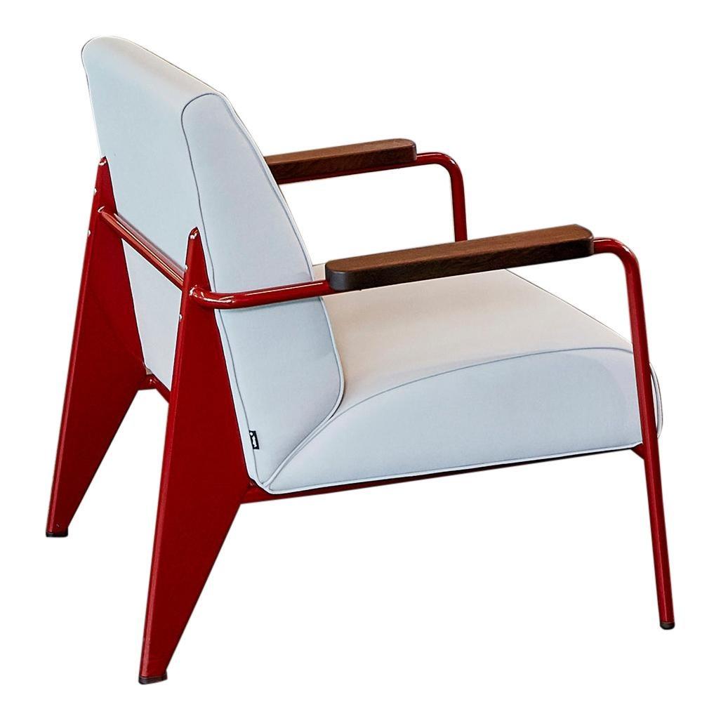 Jean Prouvé Fauteuil de Salon Armchair by Vitra