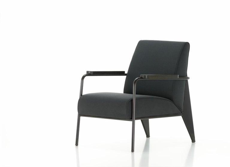 Jean Prouvé Fauteuil de Salon Armchair in Fabirc by Vitra For Sale 12