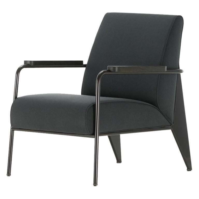 Jean Prouvé Fauteuil de Salon Armchair in Fabirc by Vitra