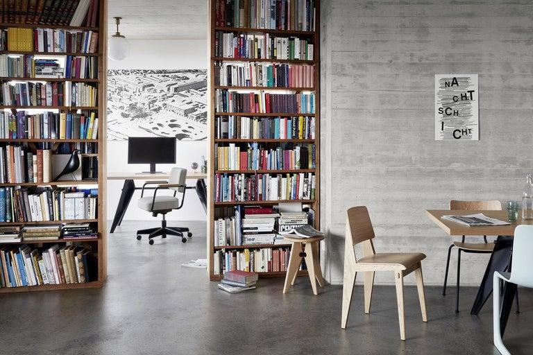 Jean Prouvé Fauteuil Direction Pivotant Office Chair by Vitra For Sale 6