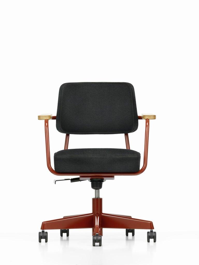 Jean Prouvé Fauteuil Direction Pivotant Office Chair by Vitra For Sale 7
