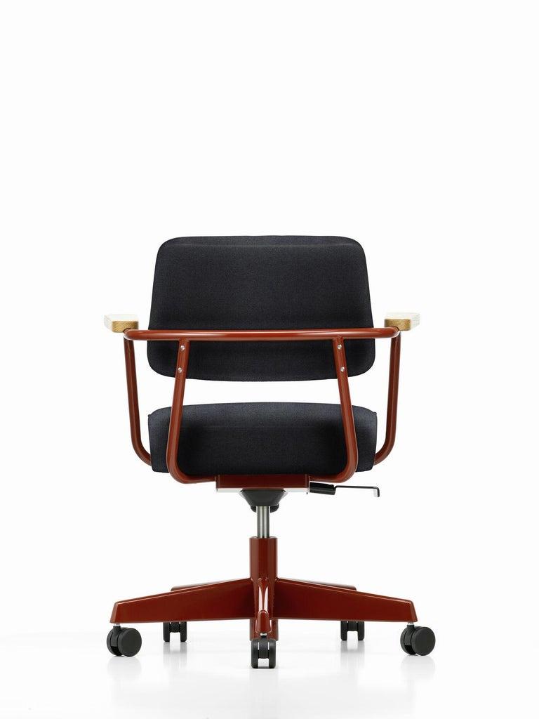 Jean Prouvé Fauteuil Direction Pivotant Office Chair by Vitra For Sale 8