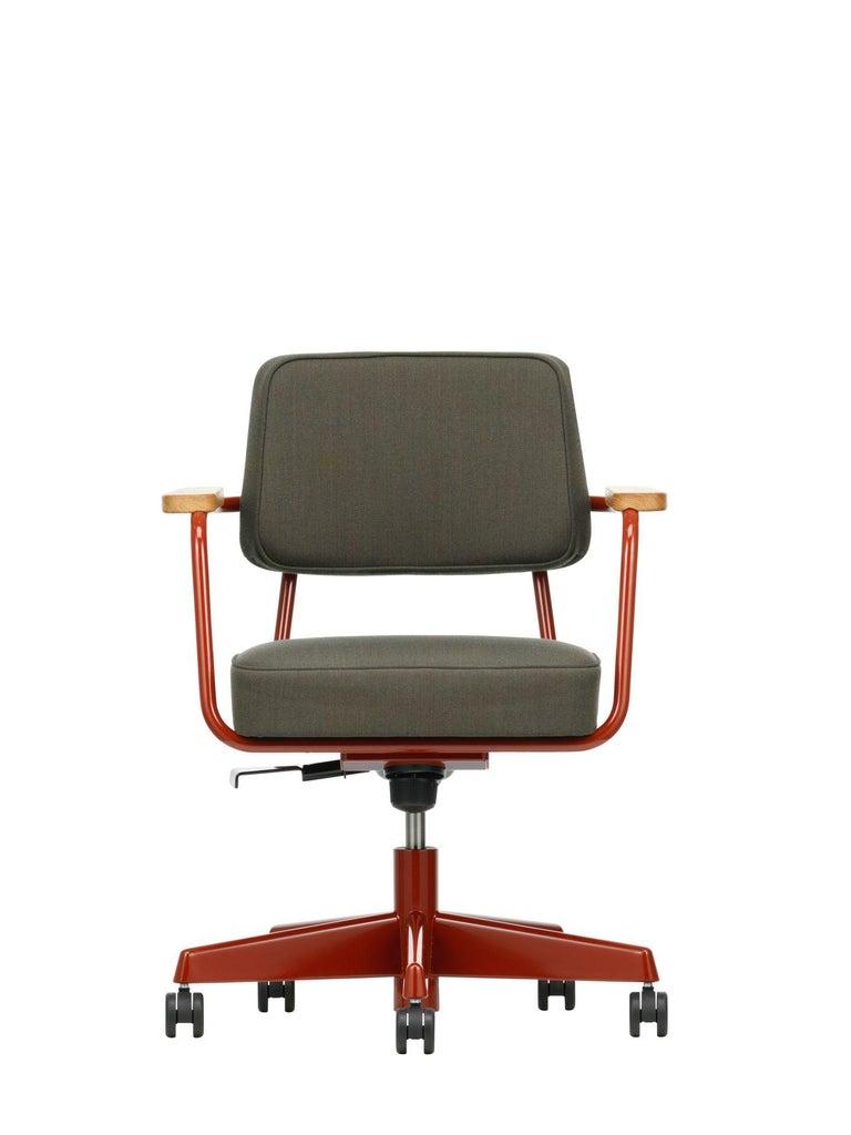 Jean Prouvé Fauteuil Direction Pivotant Office Chair by Vitra For Sale 9