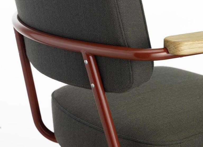 Jean Prouvé Fauteuil Direction Pivotant Office Chair by Vitra For Sale 13