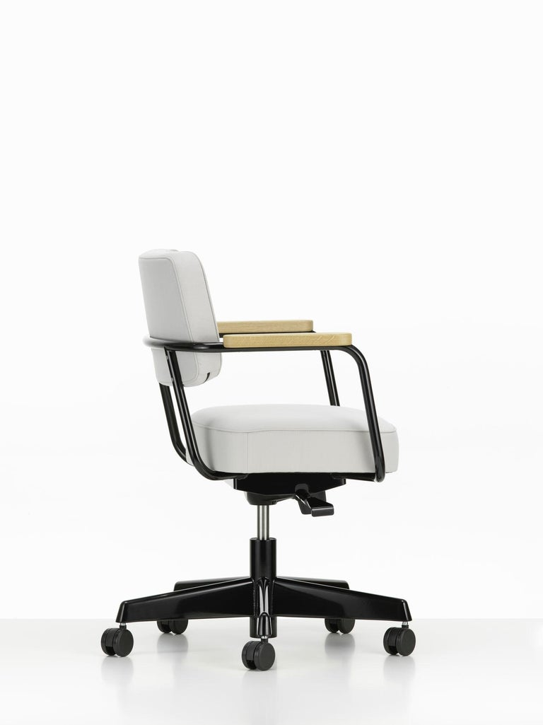 Contemporary Jean Prouvé Fauteuil Direction Pivotant Office Chair by Vitra For Sale