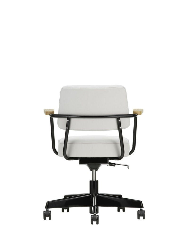 Jean Prouvé Fauteuil Direction Pivotant Office Chair by Vitra For Sale 2