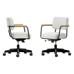 Jean Prouvé Fauteuil Direction Pivotant Office Chair by Vitra