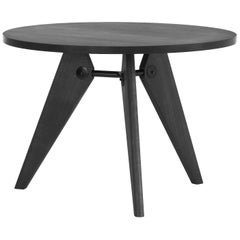 Jean Prouvé Guéridon Dining Table in Smoked Oak for Vitra