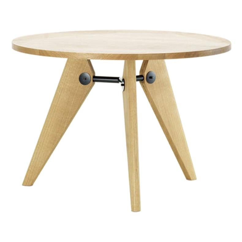 Jean Prouvé Guéridon Table in Wood by Vitra