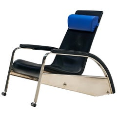 Jean Prouvé Reclining Grand Repos Lounge Chair